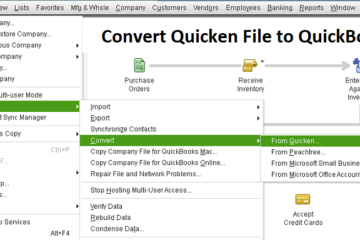 Convert Quicken File to QuickBooks