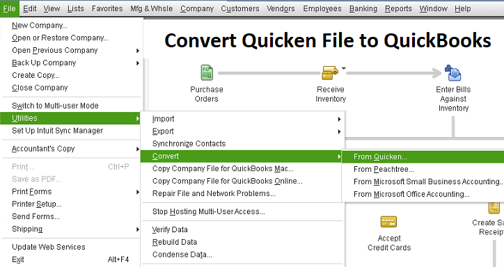 How to Convert Quicken File to QuickBooks? Call +1-888-817-0312