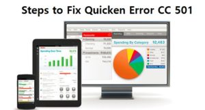 Steps to Fix Quicken Error CC 501