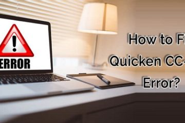 Fix Quicken Error CC-800