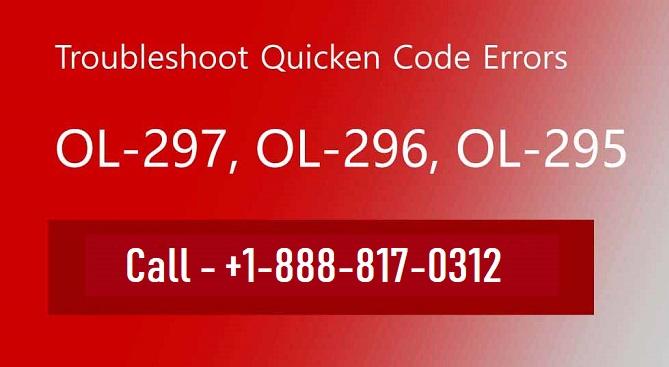 How to Remove Quicken Error OL-297, OL-296, Ol-295?