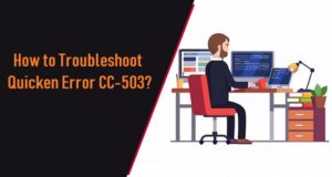 Troubleshoot Quicken Error CC-503