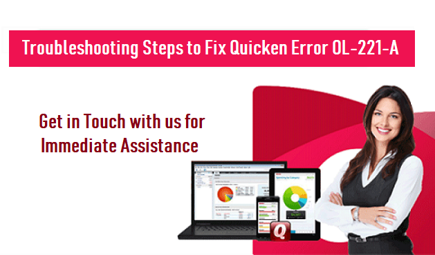 Fix Quicken Error OL-221-A