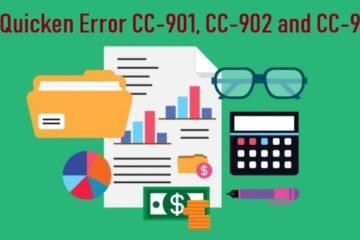 Quicken Error CC-901, CC-902 and CC-903