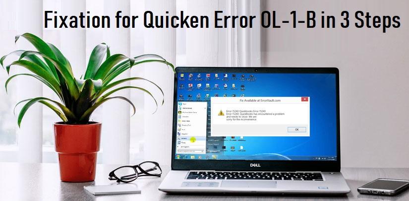 Fixation for Quicken Error OL-1-B in 3 Steps - Quicken Support