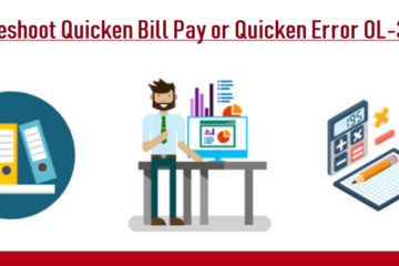 Quicken Bill Pay or Quicken Error OL-393-A