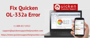 Fix Quicken OL-332a Error