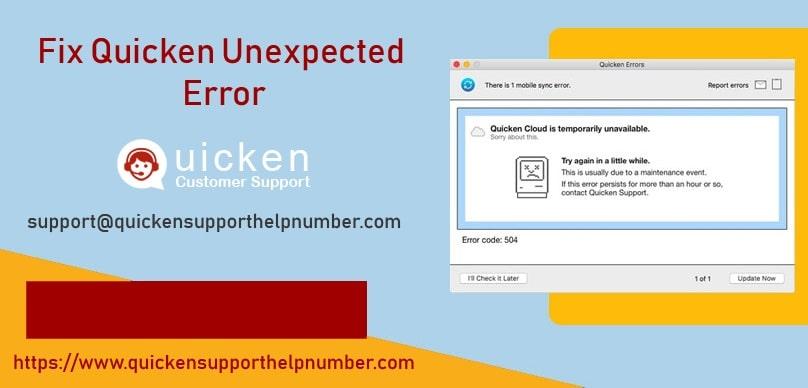 Fix-Quicken-Unexpected-Error