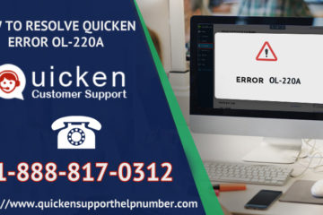 A Complete Solution for Quicken Cloud Sync Error +1-888-817-0312