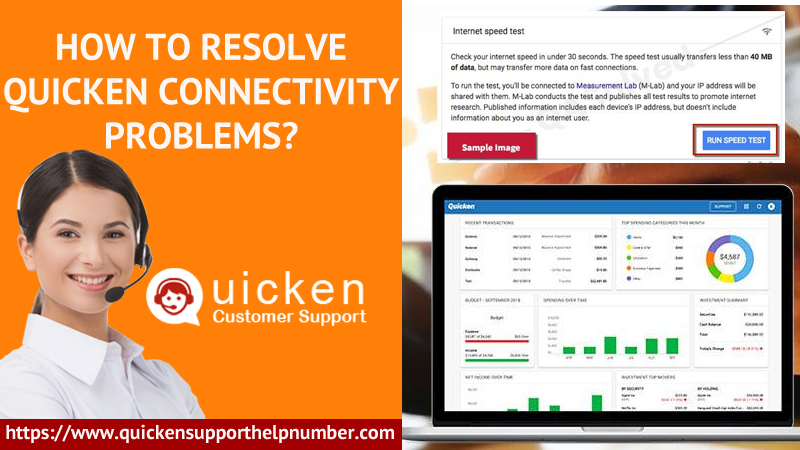 How to Resolve Quicken Connectivity Problems