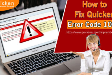 How to Fix Quicken Error Code 105