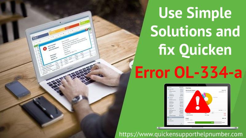 fix Quicken Error OL-334-A