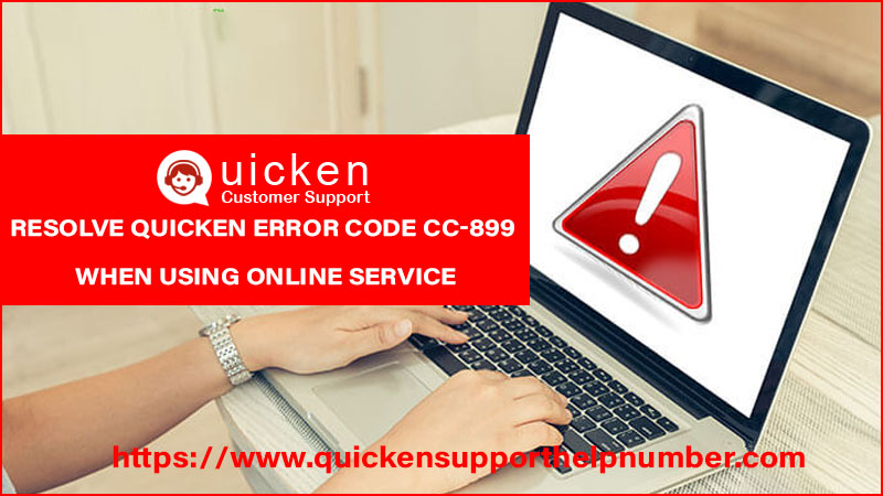 Quicken Error Code Cc-899