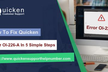 Fix Quicken Error Ol-226-A