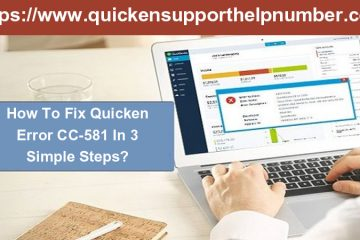 How To Fix Quicken Error CC-581