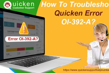 Troubleshoot Quicken Error Ol-392-A