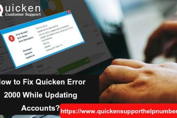 Fix Quicken Error 2000