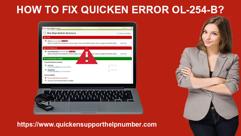 Fix Quicken Error OL-254-B