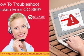 Troubleshoot Quicken Error CC-889
