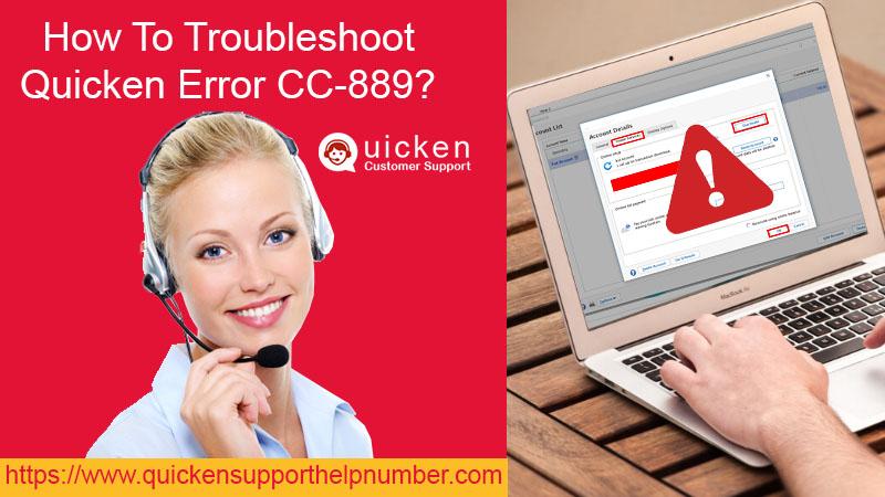 Troubleshoot Quicken Error CC-889
