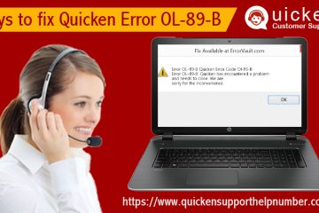 fix Quicken Error OL-89-B