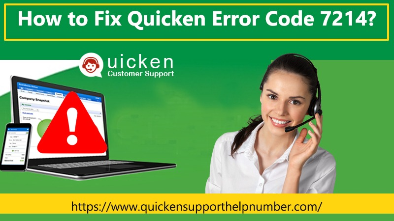 Quicken Error Code 7214