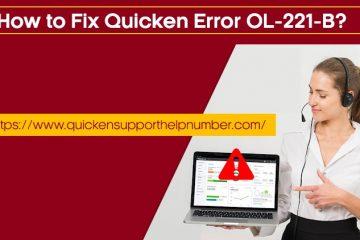 Quicken Error OL-221-B