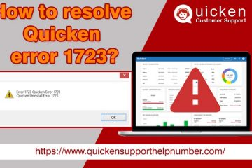 Quicken error 1723