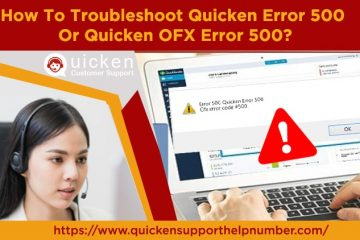 Troubleshoot Quicken Error 500 Or Quicken OFX Error 500
