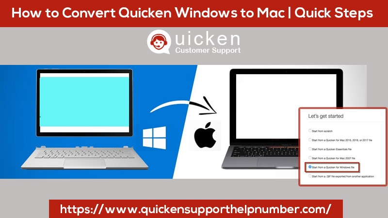 Convert Quicken Windows to Mac