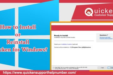 Install or Reinstall Quicken