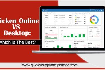 Quicken Online VS Desktop