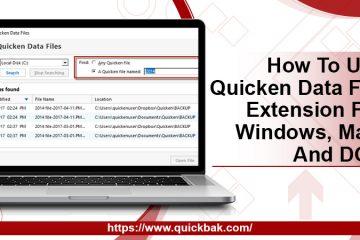 Quicken Data File Extension